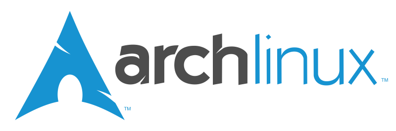 The Arch logo.